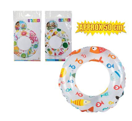 avenusa - Intex Round Pool Swim Rings - Cool Designs and Colours, Swimming Pool Float - 51 cm - avenu.co.za - Sports & Outdoors