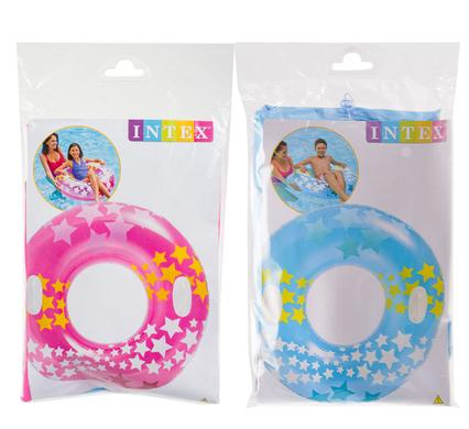 avenusa - Intex Stargaze Inflatable Pool Tube / Float with Handles -  Assorted Colours - 91 cm - avenu.co.za - Sports & Outdoors