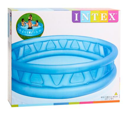 avenusa - INTEX POOL SOFT-SIDE            188x46cm - avenu.co.za - Sports & Outdoors