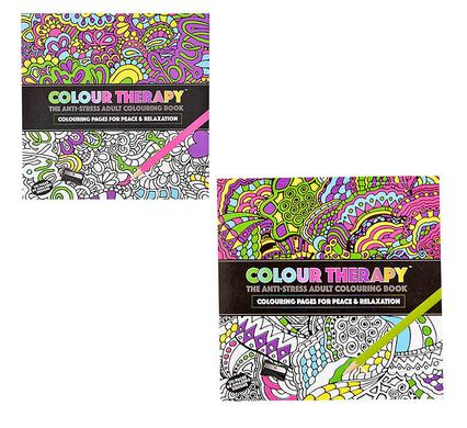 avenusa - Therapeutic Adult Colouring Book 21x20cm 120 Page - avenu.co.za - Office & School Supplies