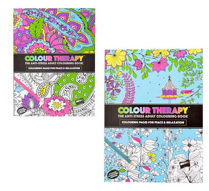 avenusa - Adult Therapeutic Colouring book 64 Pages 28x21cm - avenu.co.za - Office & School Supplies
