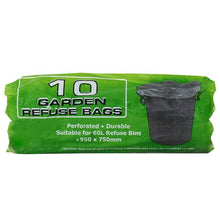 Load image into Gallery viewer, avenusa - Green Refuse Bag, Indoor or Outdoor Refuse - 750 x 950 mm (40 Micron) - 6 Pack - avenu.co.za - Tools & Home Improvement