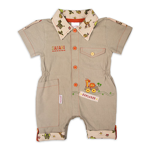 Little Explorer Romper