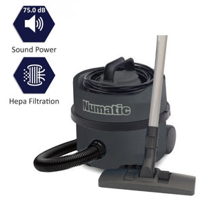 Numatic Compact High Power Dry Vacuum Cleaner, NVP180-11 NuPro
