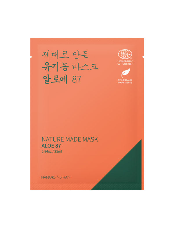 Nature Made Mask BIO Aloe 87 (Apaisant / Hydratant)