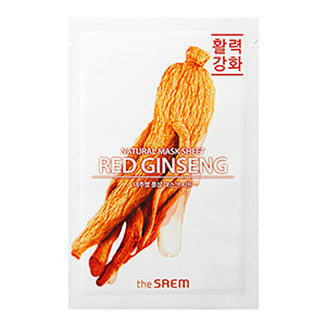 Natural Mask Sheet NEW - Ginseng Rouge