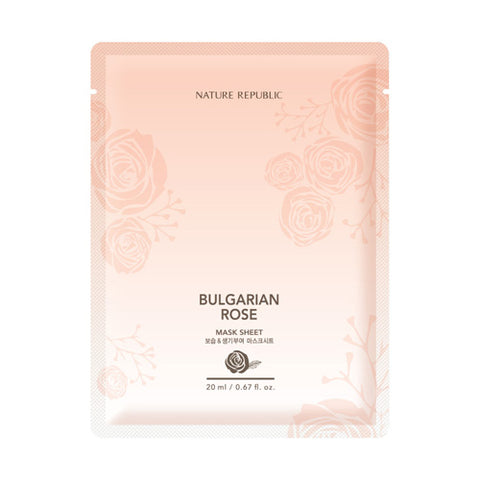 Bulgarian Rose Mask Sheet