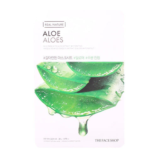 Real Nature Masque - Aloé (Hydratant)