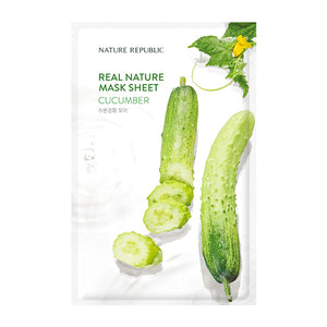 Real Nature NEW - Concombre (Hydratant)
