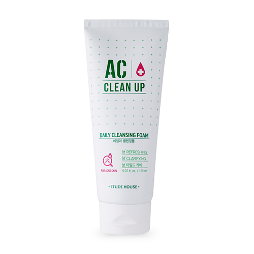 AC Clean Up Daily Mousse Nettoyante