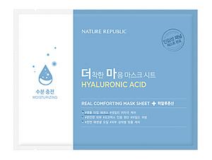 Real Comforting Mask Sheet - Acide hyaluronique (Moisturizing)