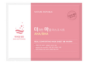 Real Comforting Mask Sheet - AHA/BHA (Skin softening)