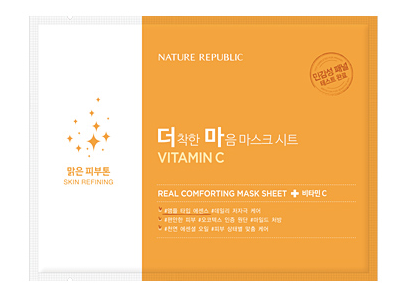 Real Comforting Mask Sheet - Vitamin C (Skin refining)