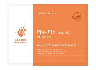 Real Comforting Mask Sheet - Vitamin E (Skin balancing)