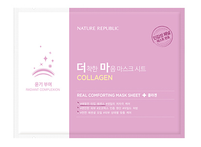 Real Comforting Mask Sheet - Collagène (Lisse&Élasticité)