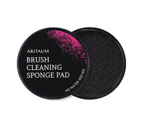 Brush Cleaning Sponge Pad