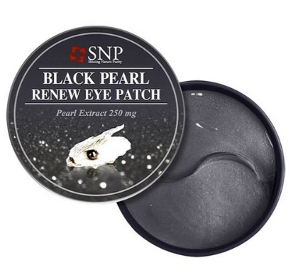 SNP Black Pearl Renew Eye Patch (60 pcs)