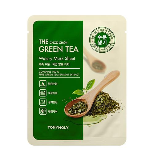 Wonder Chok Chok Green Tea Mask Sheet NEW