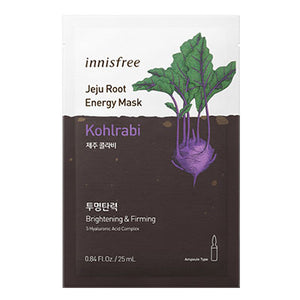 *Vegan* Jeju Root Energy Mask - Kohlrabi (Elasticité) NEW