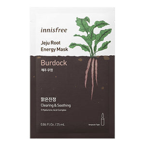 *Vegan* Jeju Root Energy Mask - Bardane (Apaisant) NEW