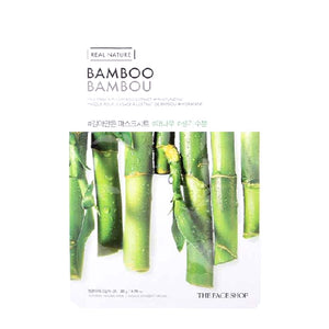 Real Nature Masque - Bambou (Hydratant)