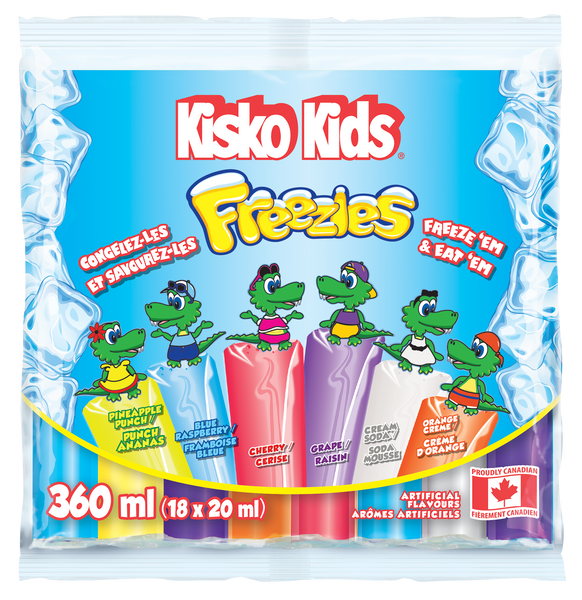 Kisko Kids Freeze Pops 18 x 20 ml