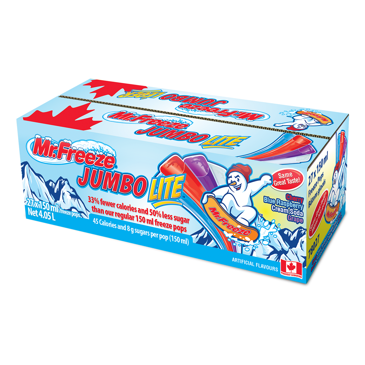 Mr. Freeze Jumbo Lite