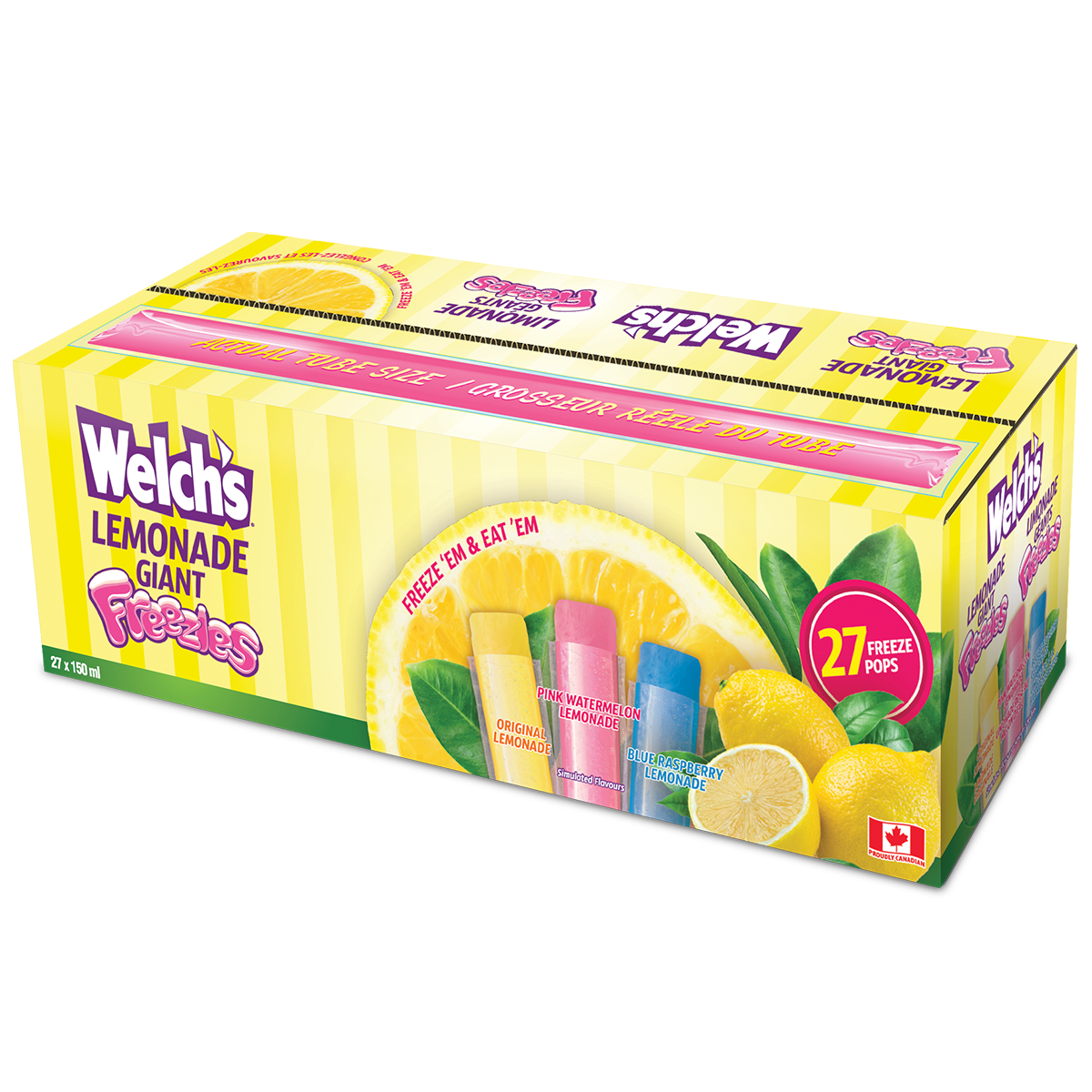 Welch's Lemonade Freezies