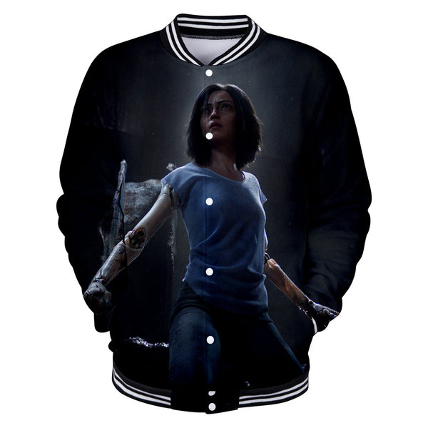 Alita Jacket - Battle Angel Baseball Jacket CSOS960 - cosplaysos