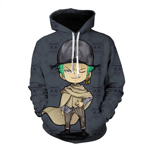 One Piece Hoodie - Zoro Pullover Hoodie CSSO025 - cosplaysos