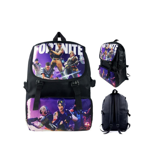 "Game Fortnite 17"" Canvas Bag Shoulder Backpack CSSO090 - cosplaysos"