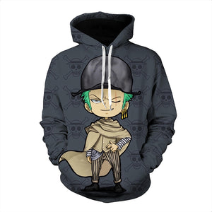 One Piece Hoodie - Zoro Pullover Hoodie CSSO004 - cosplaysos
