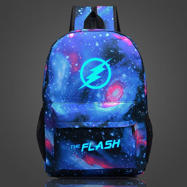 DC Comic The Flash Luminous Computer Backpack 19X12'' CSSO108 - cosplaysos