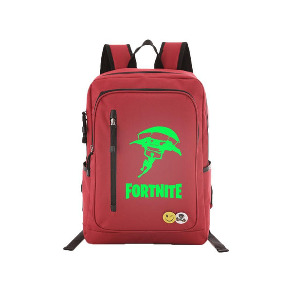 "Game Fortnite 17"" Luminous Backpack - Green Luminous CSSO097 - cosplaysos"