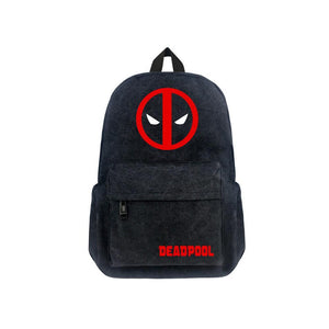 "Marvel Deadpool Canvas 17"" Backpack CSSO106 - cosplaysos"