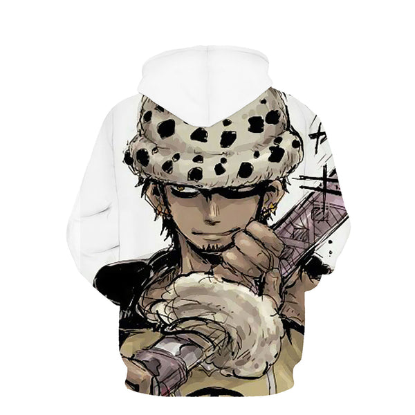 One Piece Hoodie - Monkey D Luffy Pullover Hoodie CSSO024 - cosplaysos