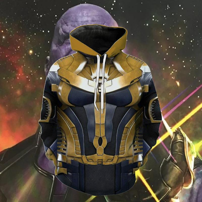 The Avengers Endgame Thanos Pullover Hoodie CSP800 - cosplaysos