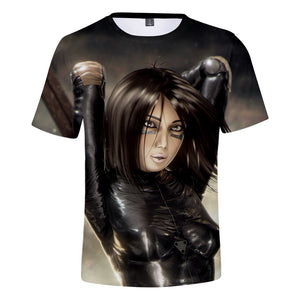 Alita T-Shirt - Battle Angel Graphic T-Shirt CSOS988 - cosplaysos