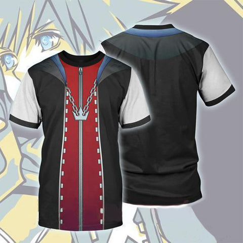 Kingdom Hearts T-Shirt - Anime T-Shirt CPS817 - cosplaysos