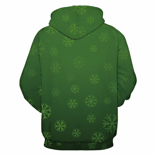 3D Print Hoodie - Funny Cat Christmas Pattern Pullover Hoodie  CSS044 - cosplaysos