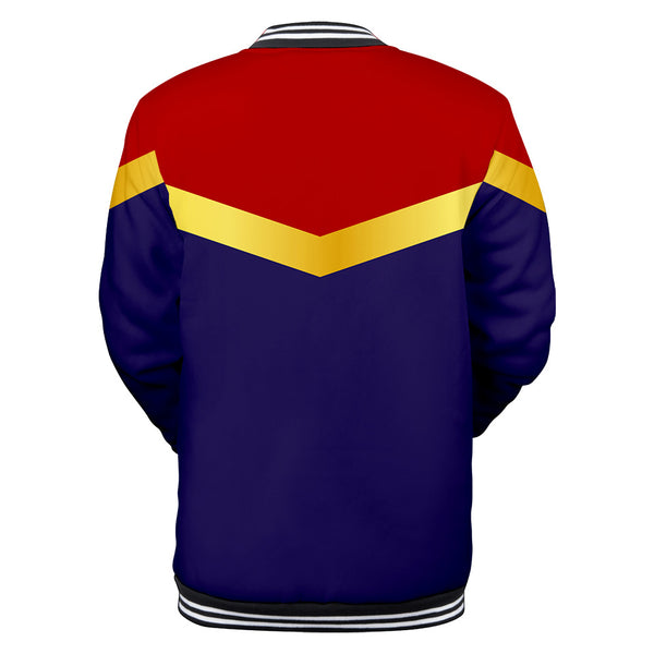 Captain Marvel Jacket - Carol Danvers Baseball Jacket CSOS910 - cosplaysos