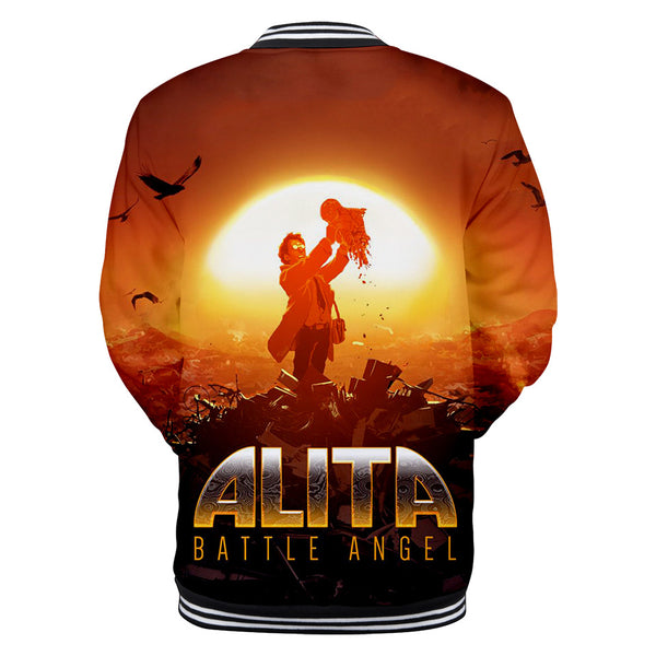 Alita Jacket - Battle Angel Baseball Jacket CSOS963 - cosplaysos