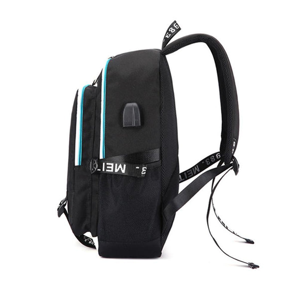 "Game Fortnite 17"" USB Backpack - No Luminous CSSO095 - cosplaysos"