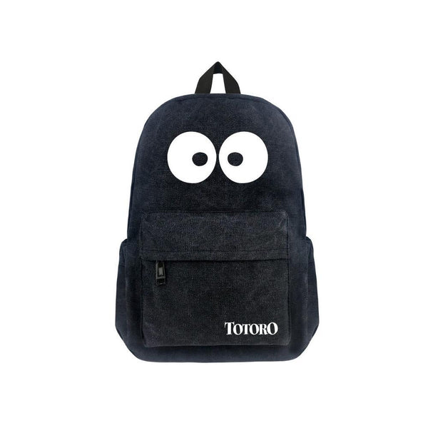 "Japanese Anime Totoro Canvas 17"" Bag Backpack CSSO071 - cosplaysos"