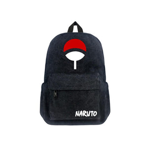 "Japanese Anime Naruto Canvas 17"" Bag Backpack CSSO068 - cosplaysos"
