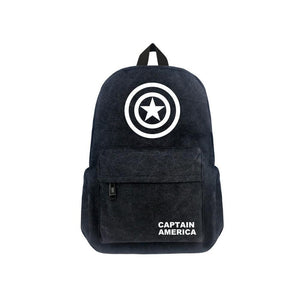 "Marvel Avengers Captain America Luminous 17"" Backpack CSSO105 - cosplaysos"