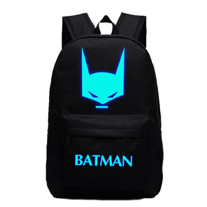 DC Comic The Batman Profile Luminous Computer Backpack 19X12'' CSSO113 - cosplaysos
