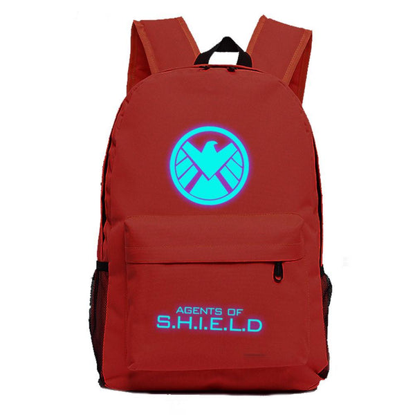 Marvel Comic The Agent of S.H.I.E.L.D Luminous computer backpack 19X12'' CSSO107 - cosplaysos