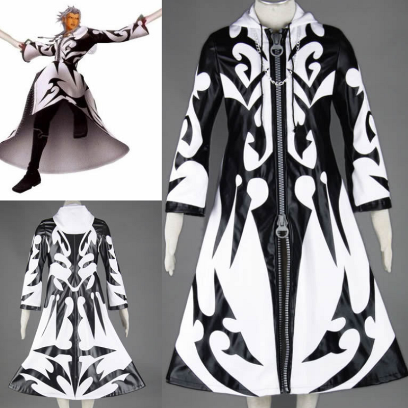 Kingdom Hearts Xemnas Cosplay Costume COT001 - cosplaysos