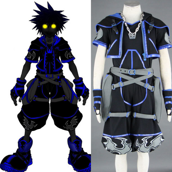 Kingdom Hearts Sora Cosplay Costume COT002 - cosplaysos